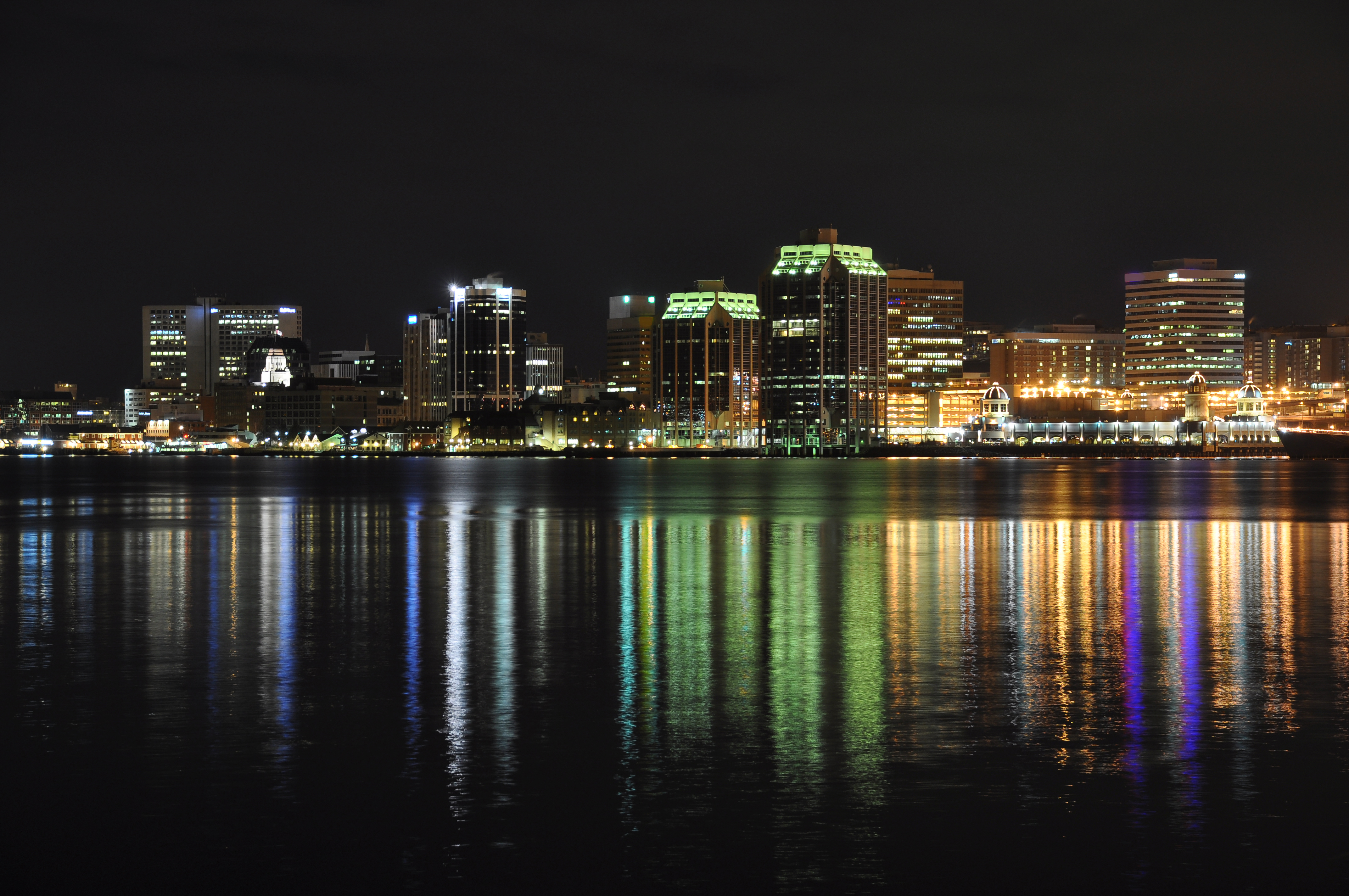 View-of-halifax-at-night